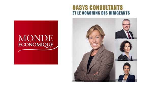 Le Monde Economique: Oasys Consultants and Executive coaching